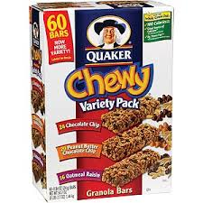 quaker chewy bar