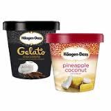 Haagen Dazs Ice Cream, Frozen Yogurt, Sorbet or Gelato